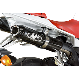 M4 Undertail Slip-On Exhaust - Carbon - M4 Undertail Slip-On Exhaust - Carbon With Cat Eliminator