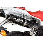 M4 Undertail Slip-On Exhaust - Carbon - M4 Performance Exhaust Dirt Bike Motorcycle Parts