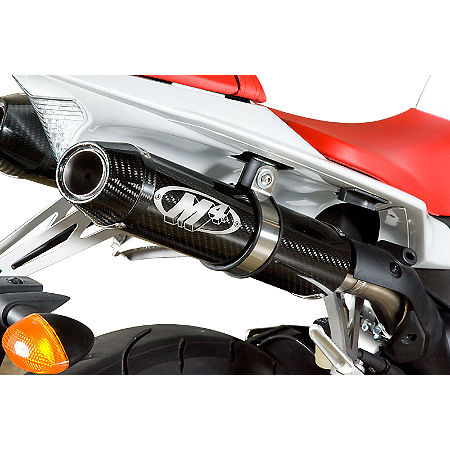 M4 Undertail Slip-On Exhaust - Carbon With Cat Eliminator - Main