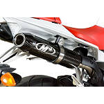 M4 Undertail Slip-On Exhaust - Carbon With Cat Eliminator - M4 Performance Exhaust Motorcycle Products