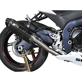 M4 MC-36 Standard Stainless Full System Exhaust - Carbon - M4 MC-36 Standard Slip-On Exhaust - Carbon