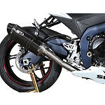 M4 MC-36 Standard Stainless Full System Exhaust - Carbon - Slip On Motorcycle Exhaust Systems