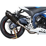 M4 MC-36 Standard Slip-On Exhaust - Carbon - Slip On Motorcycle Exhaust Systems
