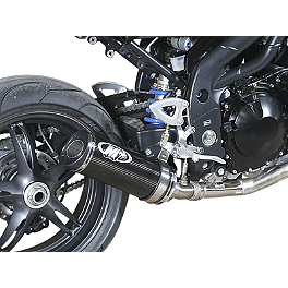 M4 Shorty Slip-On Exhaust - Carbon - M4 Shorty Slip-On Exhaust - Titanium