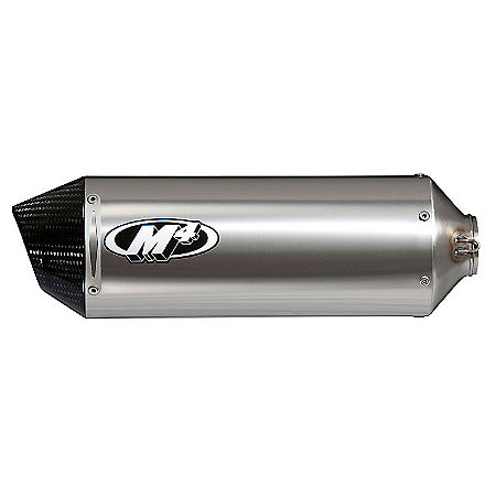 M4 Shorty Slip-On Exhaust - Titanium - Main