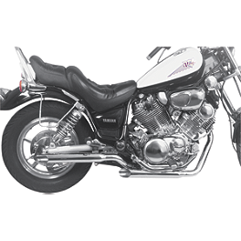 MAC Performance 2-Into-2 Staggered Dual Exhaust System - Slash Cut - Vance & Hines Classic 2 Exhaust