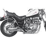 MAC Performance 2-Into-2 Staggered Dual Exhaust System - Slash Cut - MAC PERFORMANCE Cruiser Parts