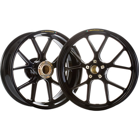 Marchesini Forged Magnesium SBK Front/Rear Wheel Combo With Sprocket Carrier - Main