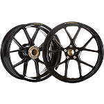Marchesini Forged Magnesium SBK Front/Rear Wheel Combo With Sprocket Carrier - Ducati Dirt Bike Tire and Wheels