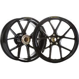 Marchesini Forged Aluminum Kompe Front/Rear Wheel Combo - 2010 Kawasaki ZX600 - Ninja ZX-6R Braking W-FIX Brake Rotor - Rear