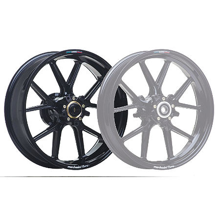 Marchesini Magnesium M10R Corse SBK Rear Wheel - Gloss Black - Main
