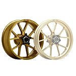 Marchesini Magnesium M10R Corse SBK Rear Wheel - Gold - Aprilia Dirt Bike Tire and Wheels