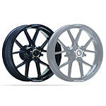 "Marchesini Magnesium M10R Corse SBK 6"" Wide Rear Wheel - Gloss Black - Dirt Bike Rims & Wheels"