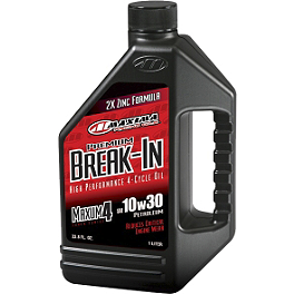 Maxima Maxum 4 Break-In High-Performance 4-Cycle Engine Oil - Maxima Semi Synthetic 4-Stroke 10W40 Engine Oil - 1 Gallon