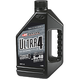 Maxima Maxum 4 Ultra 4-Cycle Engine Oil - Maxima 15WT Racing Fork Fluid - 1 Liter