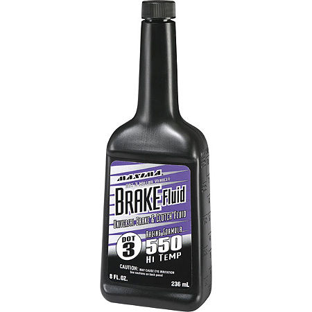 Maxima 550 Racing Brake Fluid - Main