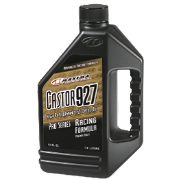 Maxima Castor 927 2-Stroke Oil - 64oz - 2013 Yamaha RAPTOR 350 Maxxis RAZR Blade Sand Paddle Tire - 20x11-9 - Left Rear