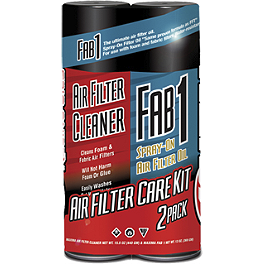Maxima Air Filter Care Kit - Maxima Fab 1 Spray-On Air Filter Oil