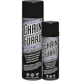 Maxima Chain Guard Chain Lube - Maxima Fab 1 Spray-On Air Filter Oil