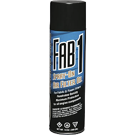 Maxima Fab 1 Spray-On Air Filter Oil - Maxima Chain Wax - 13.5oz
