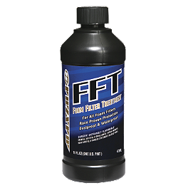 Maxima FFT Air Filter Oil - 16oz - Maxima Chain Wax - 13.5oz