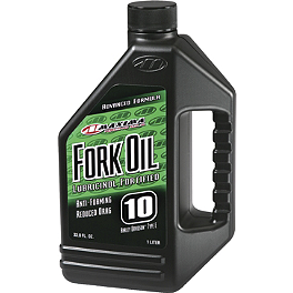 Maxima Fork Oil - Lucas Oil Synthetic Fork Oil
