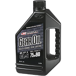 Maxima Hypoid Synthetic Gear Oil - Maxima Premium 4-Stroke 10W40 Engine Oil - 1 Gallon
