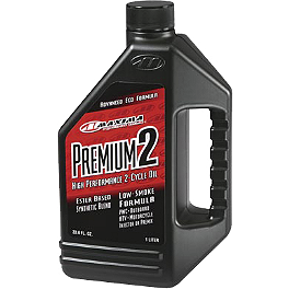 Maxima Premium 2 2-Cycle Lubrication - Maxima Castor 927 2-Stroke Oil - 1 Liter