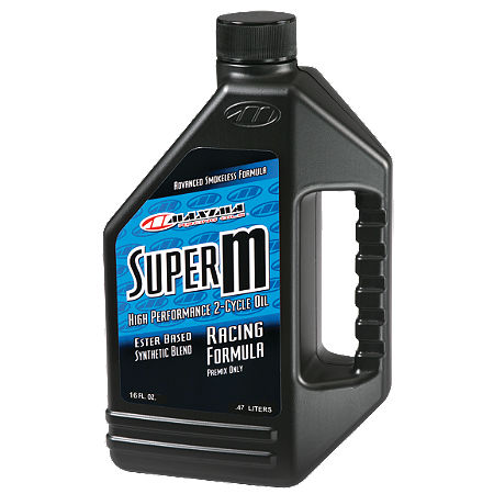 Maxima Super M 2-Stroke Oil - 16oz - Main