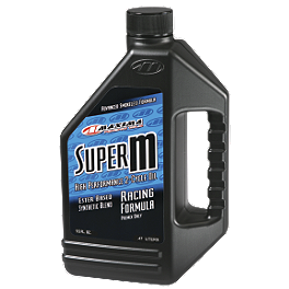 Maxima Super M 2-Stroke Oil - 16oz - Yamalube 2R Two Stroke Oil - 1 Pint