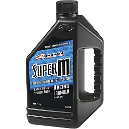 Maxima Super M 2-Stroke Oil - 1 Liter - Maxima Premium 2 2-Cycle Lubrication