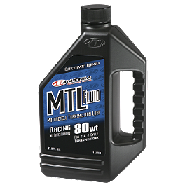 Maxima 85WT Transmission Oil MTL-E - 1 Liter - Maxima 10W40 Semi Synthetic 4-Stroke Engine Oil - 1 Liter