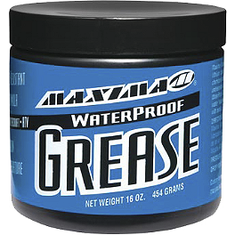 Maxima Waterproof Grease - DNA Specialty Rear Wheel 1.85x16 - Orange/Black