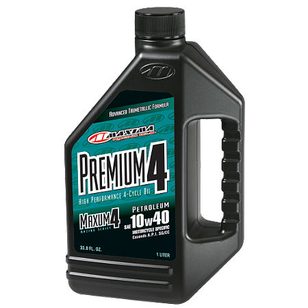 Maxima 10W40 Premium 4-Stroke Engine Oil - 1 Liter - Main