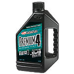 Maxima 10W40 Premium 4-Stroke Engine Oil - 1 Liter - Utility ATV Fluids and Lubricants