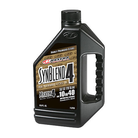 Maxima Semi Synthetic 4-Stroke 10W40 Engine Oil - 1 Gallon - Main