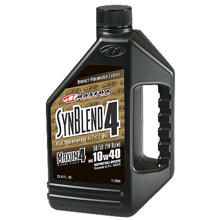 Maxima 10W40 Semi Synthetic 4-Stroke Engine Oil - 1 Liter - Main