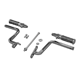 MC Enterprises Deluxe Hi-Way Bars - O-Ring Pegs - 2003 Kawasaki Vulcan 1500 Nomad Fi - VN1500L MC Enterprises Saddlebag Top Racks