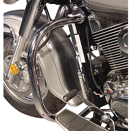MC Enterprises Full Engine Guard - 1999 Suzuki Intruder 1500 - VL1500 Cobra Freeway Bars - Chrome