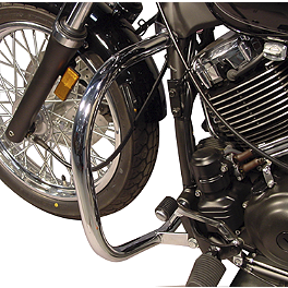 MC Enterprises Full Engine Guard - 2004 Yamaha V Star 1100 Custom - XVS11 MC Enterprises Rear Fender Mini Rack - Deluxe