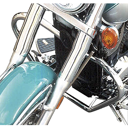 MC Enterprises Full Engine Guard - 2000 Kawasaki Vulcan 800 Classic - VN800B National Cycle Light Bar