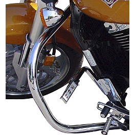 MC Enterprises Full Engine Guard - 2005 Kawasaki Vulcan 1600 Mean Streak - VN1600B National Cycle Light Bar