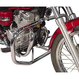 MC Enterprises Full Engine Guard - 2003 Honda Rebel 250 - CMX250C Cobra Freeway Bars - Chrome