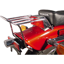 MC Enterprises Rear Fender Mini Rack - Standard - 2000 Honda Rebel 250 - CMX250C National Cycle Dakota 3.0 Standard Windshield