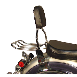 MC Enterprises Sissy Bar - Standard - 2005 Yamaha Road Star 1700 Midnight - XV17AM MC Enterprises Tour Cruiser Rack