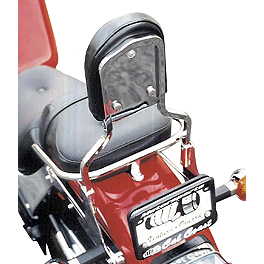 MC Enterprises Sissy Bar - Standard - 2002 Kawasaki Vulcan 1500 Classic - VN1500E MC Enterprises Tour Cruiser Rack