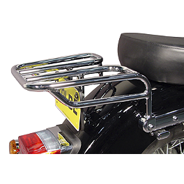 MC Enterprises Tour Cruiser Rack - 2002 Kawasaki Vulcan 1500 Classic - VN1500E MC Enterprises Tour Cruiser Rack