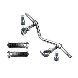 MC Enterprises Universal Hi-Way Bars - O-Ring Pegs - 1994 Suzuki Intruder 800 - VS800GL MC Enterprises Rear Fender Mini Rack - Deluxe