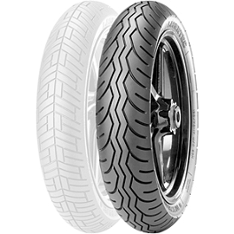 Metzeler Lasertec Rear Tire - 130/90-16V - Metzeler ME880 Front Tire - MT90-16B 72H Narrow Whitewall