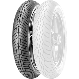 Metzeler Lasertec Front Tire - 3.25-19V - Metzeler ME880 Front Tire - MT90-16B 72H Narrow Whitewall